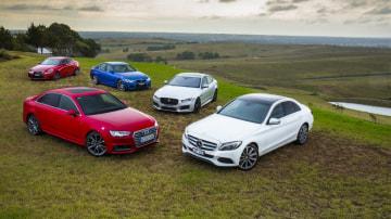 We pit the Lexus IS200t, BMW 330i, Jaguar 25t R-Sport and the Mercedes-Benz C250 against Audi's new A4.
