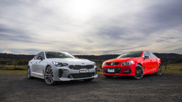 Head to head: 2017 Kia Stinger vs Holden Commodore SS-V Redline