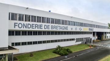 Renault Caudan Plant Fonderie de Bretagne
