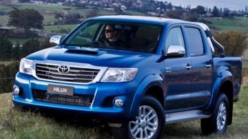 2011 Toyota HiLux dual-cab ute.