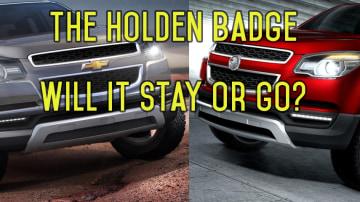 Holden vs Chevrolet: Holden Badge Will Go, Holden Badge Will Stay