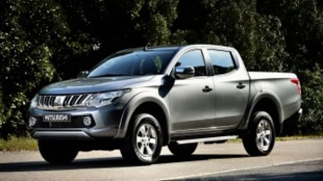 The popular Mitsubishi Triton will be updated around the June.