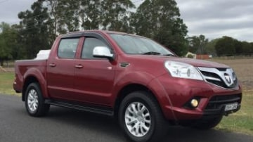 2017 Foton Tunland new car review