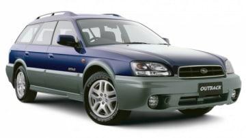 2002 Subaru Outback.