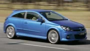 Pic of Holden HSV  Astra VXR for Sat Road Test. 21 February 2007.