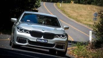 2017 BMW 740e.