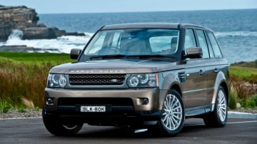 2010 Range Rover Sport.