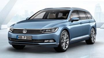 New Volkswagen Passat wagon.
