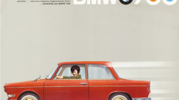A 1959 sales brochure for BMW's diminutive 700 model, which saved the company from financial collapse by being the right car at the right time.