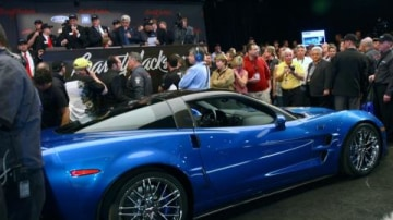 First Corvette ZR1 auctioned for US$1 million