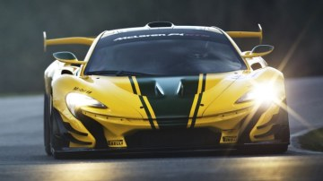 The new track-focused McLaren P1 GTR will be officially unveiled at the 2015 Geneva motor show.
