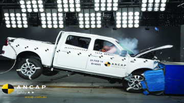 ANCAP: 2 Stars For Tata Xenon, 5 For Kluger, C4, 2008, Outlander
