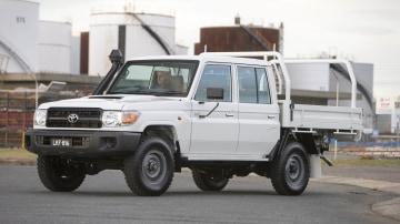 2018 Toyota Landcruiser GXL 70-series