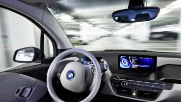 BMW has revealed an autonomous valet parking system ahead of its release at the 2015 Consumer Electronics Show in Las Vegas in January