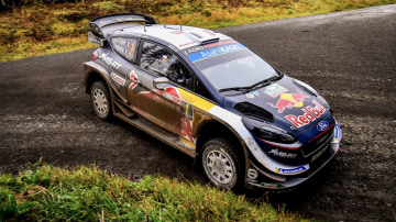 Sebastian Ogier was the man to beat in Wales.
