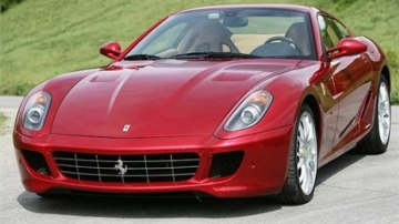 Supercars such as the Ferrari 599 GTB are experiencing a torrid sales time as the global economic downturn bites the new-car industry.