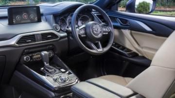 Seven seat SUV comparison test: Mazda CX-9
