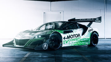 Honda's US subsidiary recently entered an NSX-based electric car at Pikes Peak.
