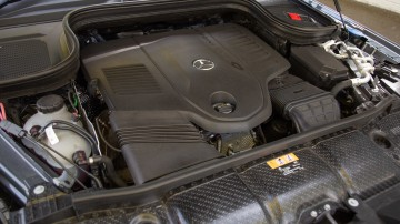 Drive Car of the Year Best Upper Large Luxury SUV 2021 finalist Mercedes-Benz GLS-Class engine