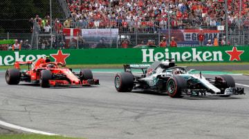 Motorsport: Hamilton spoils Ferrari's home party