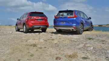 Honda CR-V VTi-L Vs Nissan X-Trail ST-L