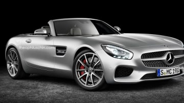 Mercedes-AMG GT Roadster Set For 2017 Debut