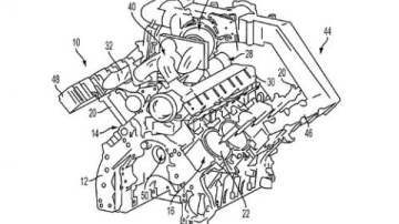 Ford Applies For Patent On Pushrod Turbocharged V8 In US