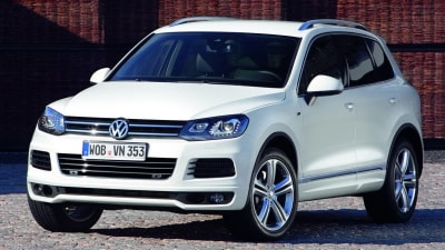 2011 Volkswagen Touareg R-Line Package Revealed