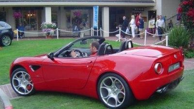 Alfa to produce 8C Competizione Spider