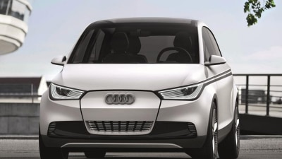 Audi A2 Concept Previewed