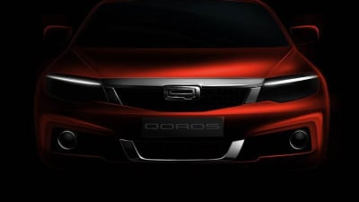 Qoros Teases Second New Model For Europe, '3 Cross' SUV Likely