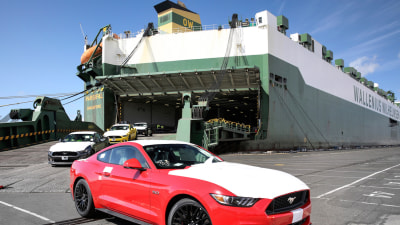 Ford Mustang Arrives On Australian Shores With 4000 Pre-Orders - Sold Out For 2016