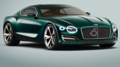 Bentley EXP10 coupe closer to production