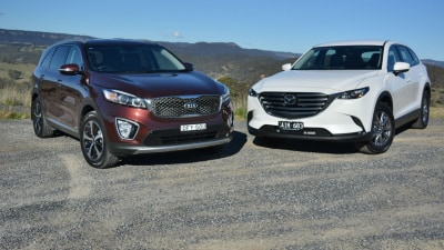 Large SUV Lowdown - Mazda CX-9 v Kia Sorento Comparison Test