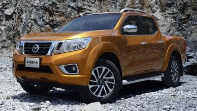 2015 Nissan Navara Revealed: Official