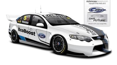 V8SC: FPR Previews Car Of The Future Falcon EcoBoost Branding