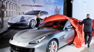 Ferrari Reveals new Turbocharged Wagon