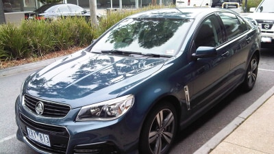 2014 Holden VF Commodore Spied In Melbourne