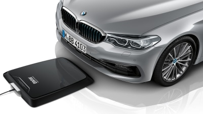 BMW rolls out wireless charging for hybrids