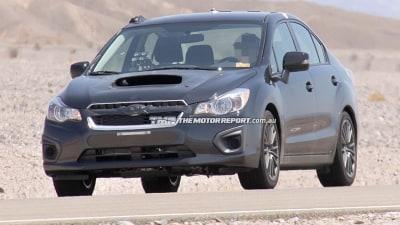 2014 Subaru WRX Spied Testing