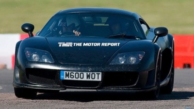2010 Noble M600 Supercar Spied Testing In Europe