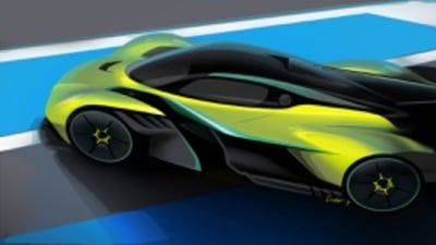Aston Martin Valkyrie AMR Pro To Rival F1 Cars