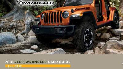 2018 Jeep Wrangler Details Leaked Online