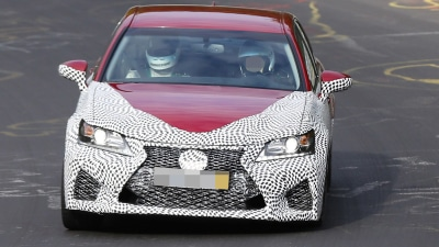 Lexus GSF Performer Spied Testing