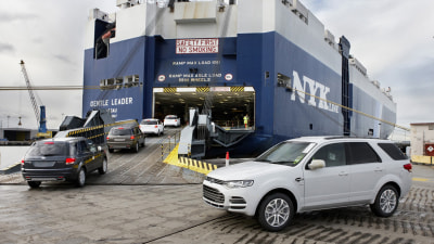 Australian-built Ford Territory Exported To Thailand