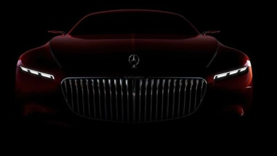 Mercedes-Maybach Coupe Teased Again Ahead Of Pebble Beach