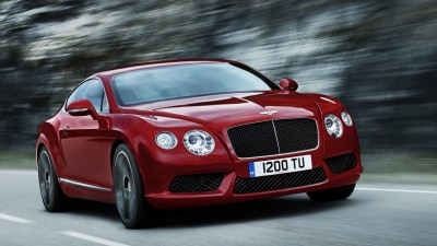 2012 Bentley Continental GT Gets New, Frugal V8 Engine