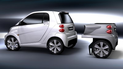 Rinspeed Dock+Go Makes A Ute Out Of The Smart ForTwo