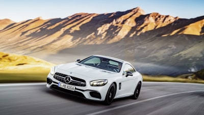 2016 Mercedes-Benz SL-Class Revealed At LA Auto Show