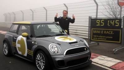 MINI E Laps The Nurburgring In Under 10 Minutes: Video